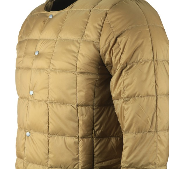 Taion Mens Beige 104 Quilted Layering Jacket