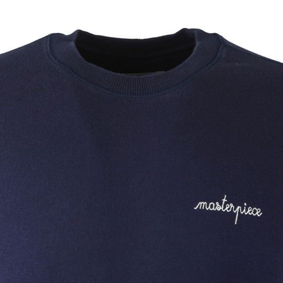 Maison Labiche Mens Blue Classique Masterpiece Sweatshirt