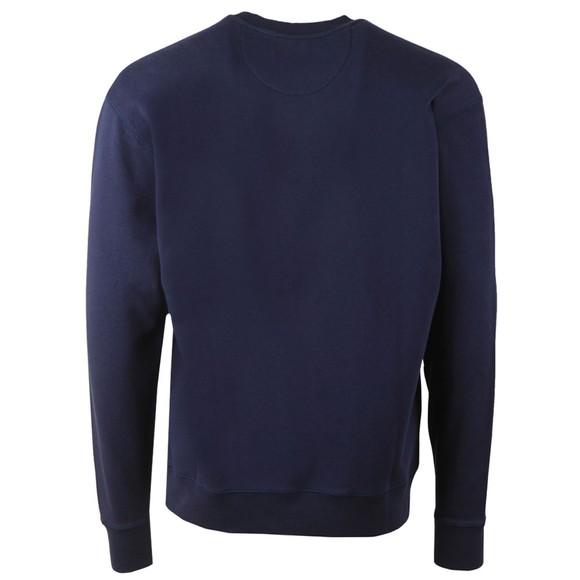 Maison Labiche Mens Blue Classique Masterpiece Sweatshirt main image