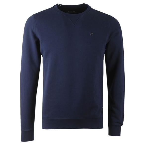 Replay Mens Blue M3436B Crew Sweatshirt