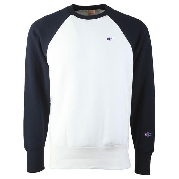 Champion Reverse Weave Mens Multicoloured Raglan Sleeve Sweatshirt