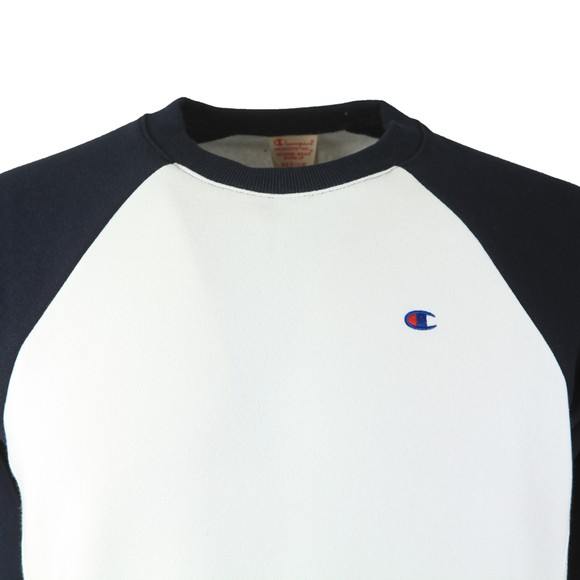 Champion Reverse Weave Mens Multicoloured Raglan Sleeve Sweatshirt main image