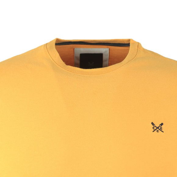 Crew Clothing Company Mens Yellow Classic T-Shirt