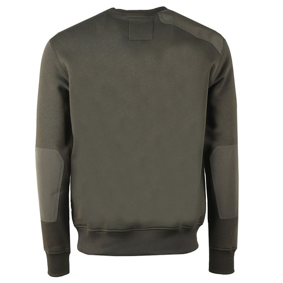 G-Star Mens Green Hunting Patch Sweatshirt main image