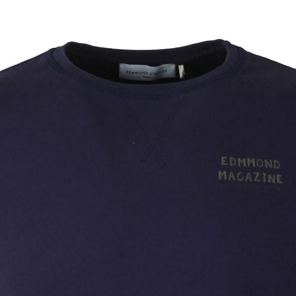 Edmmond Studios Mens Blue La Vie Simple Dog Sweatshirt main image