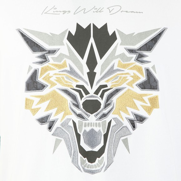 Kings Will Dream Mens White Wolf T-Shirt
