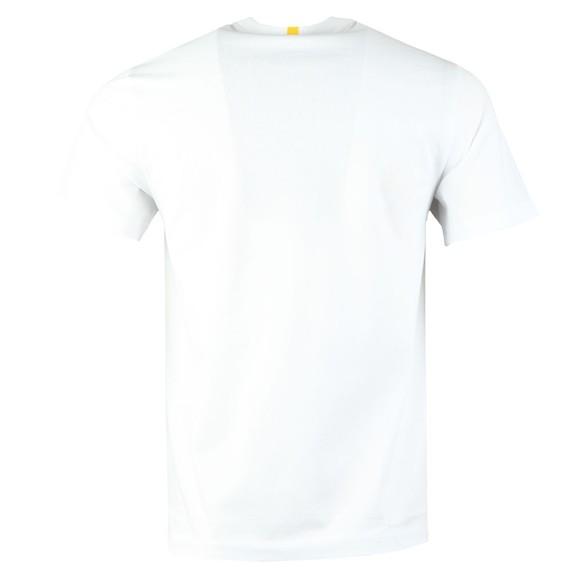 Lacoste x National Geographic Mens White TH6281 Jaguar T-Shirt main image