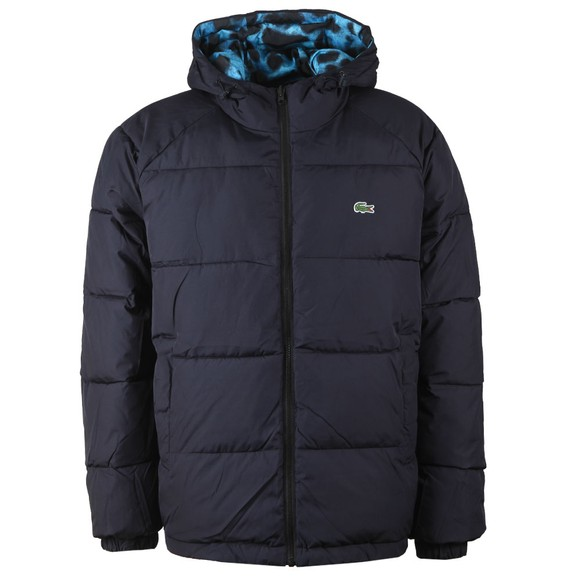 Lacoste x National Geographic Mens Blue BH6448 Dart Frog Jacket main image
