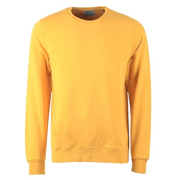 Colorful Standard Mens Burned yellow Organic Crew Sweatshirt