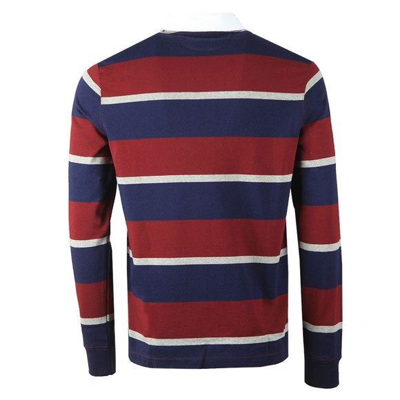 Polo Ralph Lauren Mens Blue The Iconic Rugby Shirt main image