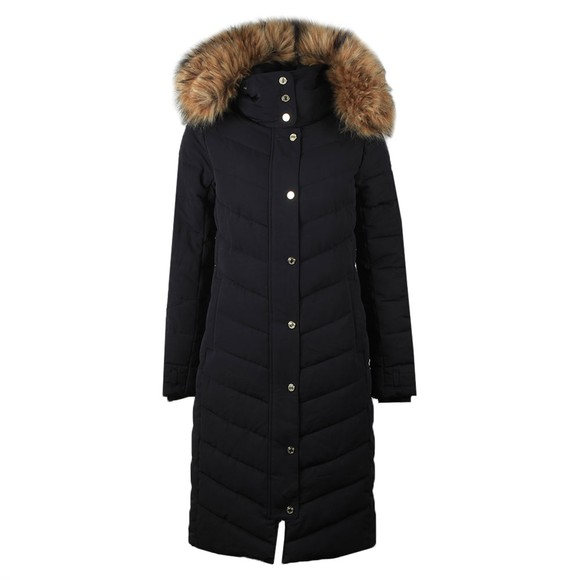 Holland Cooper Womens Blue The Wellington Coat