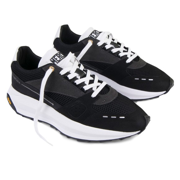 Mercer Mens Black Racer Lux Trainer