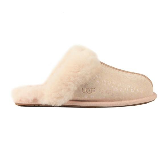 Ugg Womens Pink Scuffette II Snow Leopard Slipper