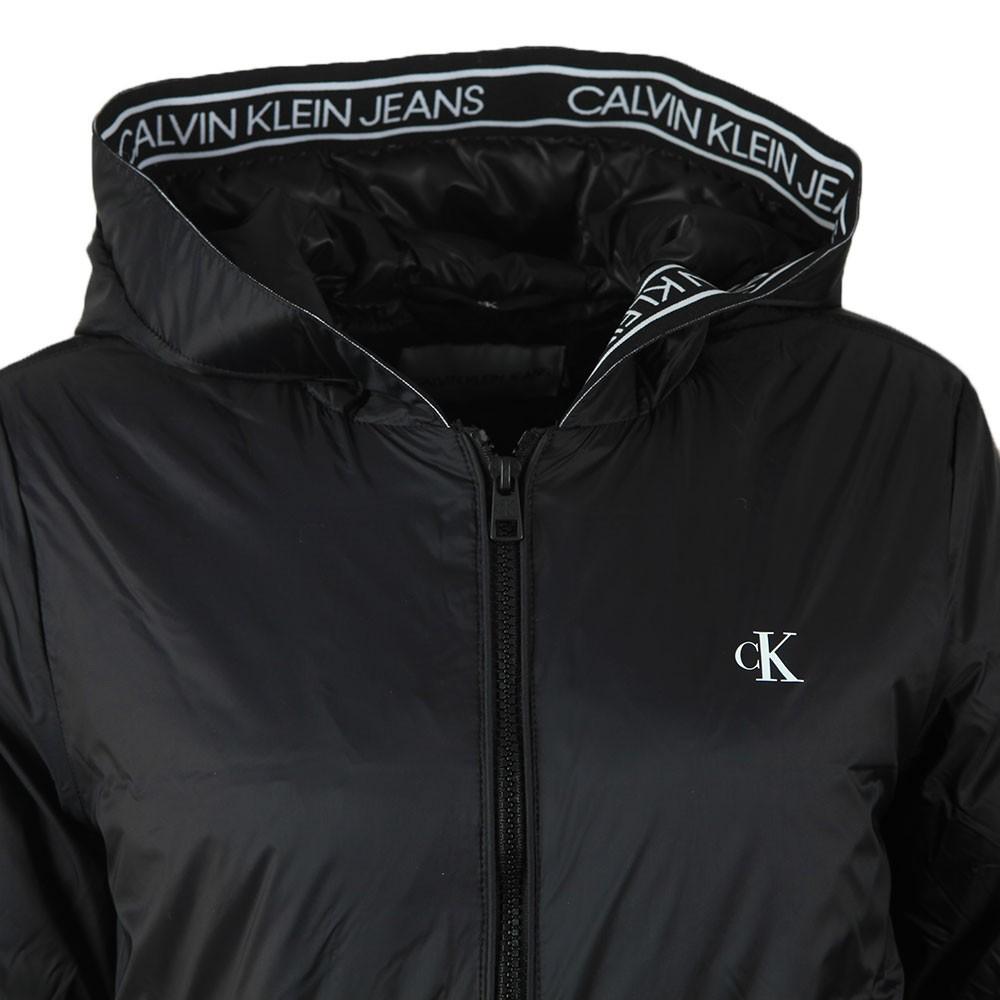 Logo Lightweight Hooded Padded Jacket main image
