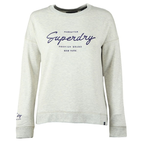 Superdry Womens Beige Lucy Lounge Sweat Top