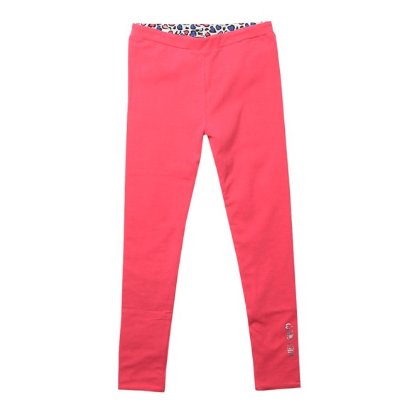 Guess Girls Pink Reversible Legging