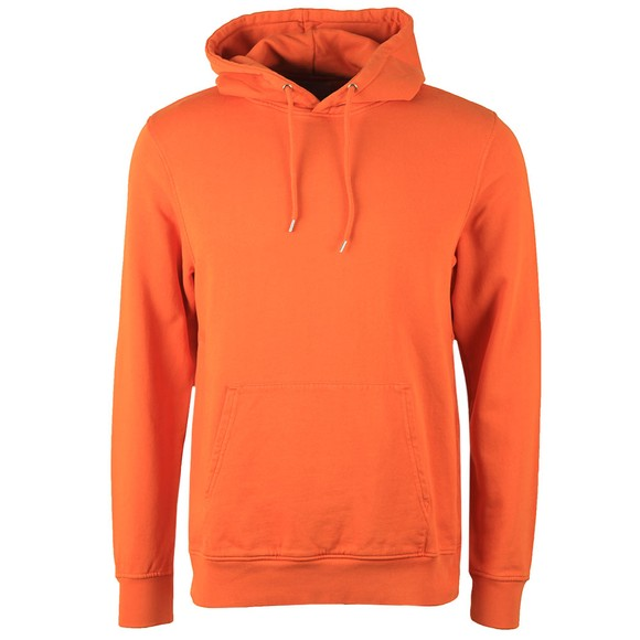 Colorful Standard Mens Orange Classic Organic Hoodie