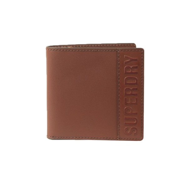 Superdry Mens Brown Vermont Bifold Leather Wallet