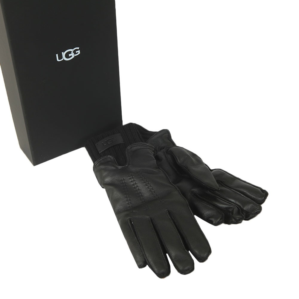 Leather With Knit Cuff Glove main image