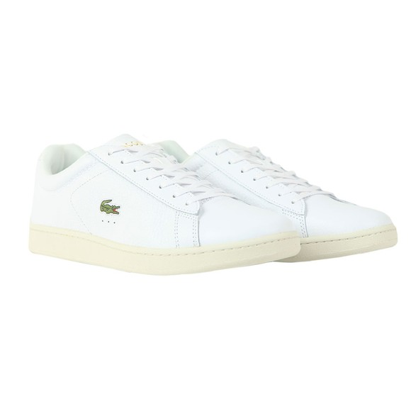 Lacoste Mens White Carnaby Evo 0120 Trainer