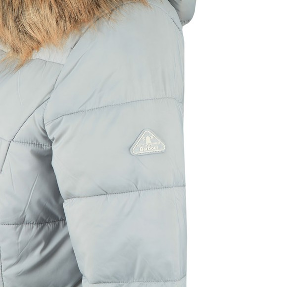 Barbour Lifestyle Womens Grey Dover Quilt