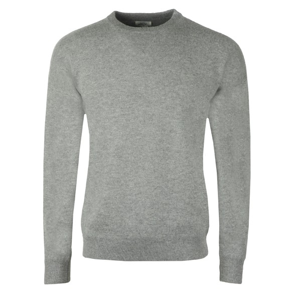Hartford Mens Grey Boil Crew Neck Jumper