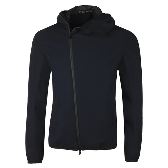 Esemplare Mens Blue B-IN Hooded Shell Jacket