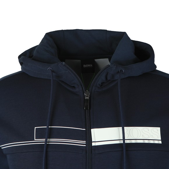 BOSS Mens Blue Athleisure Saggy 1 Hoody