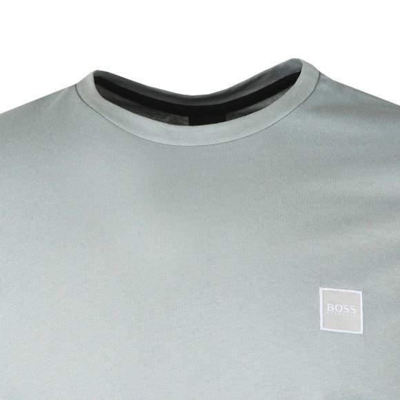 BOSS Mens Blue Casual Tales T Shirt