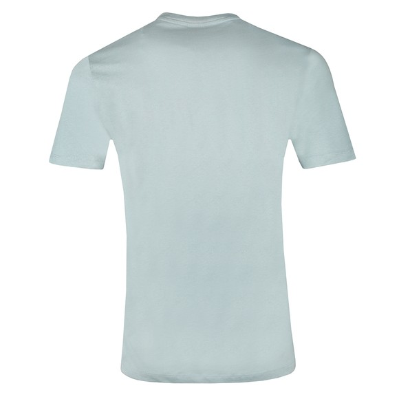 BOSS Mens Blue Casual Tales T Shirt main image
