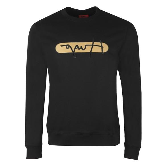 HUGO Mens Black Dicago U211 Sweatshirt