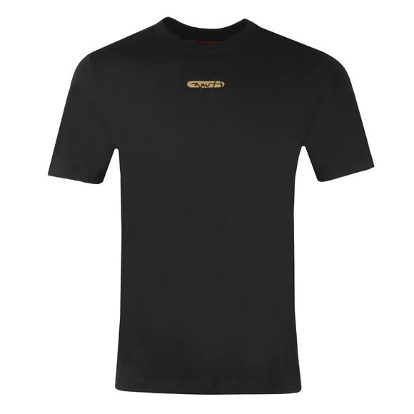 HUGO Mens Black Durned U211 T Shirt