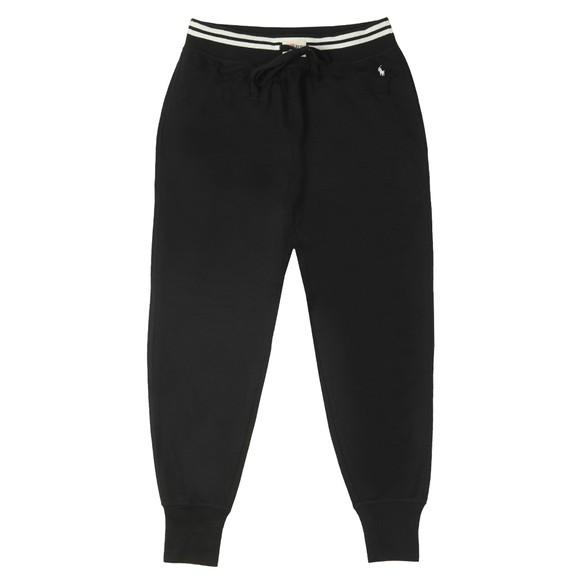 Polo Ralph Lauren Mens Black Jersey Lounge Pant
