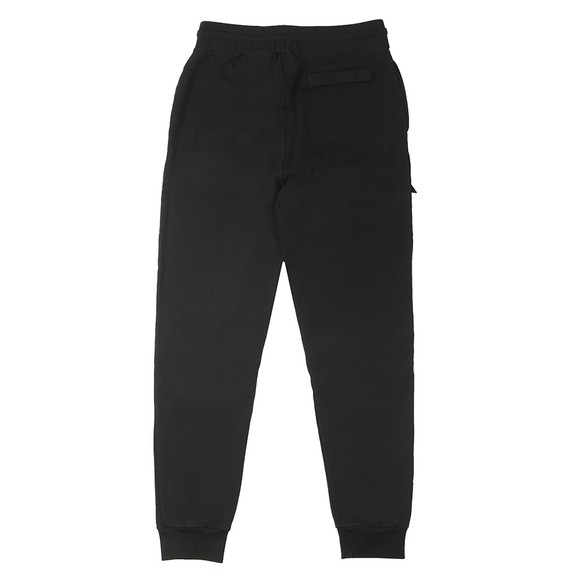 Ma.Strum Mens Black Patch Pocket Track Pant