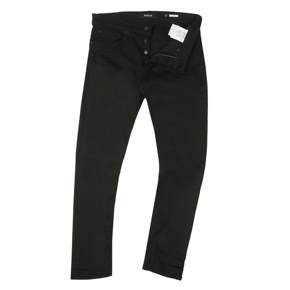 Replay Mens Black Willbi Jean