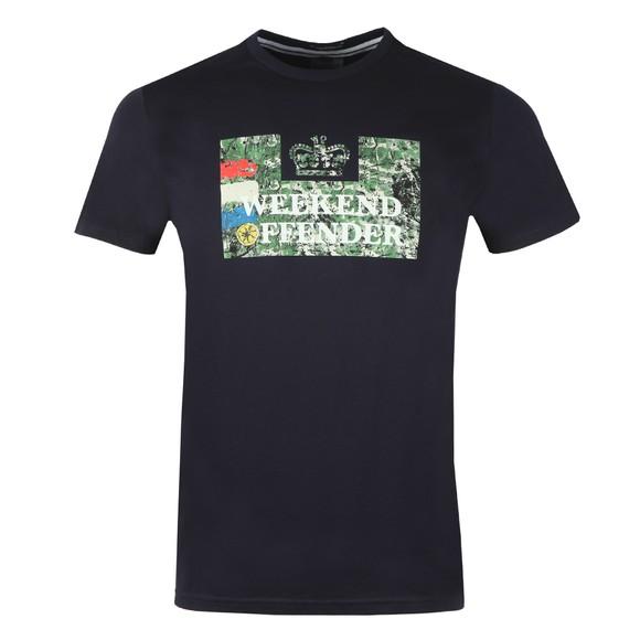Weekend Offender Mens Blue Bad Man T-Shirt