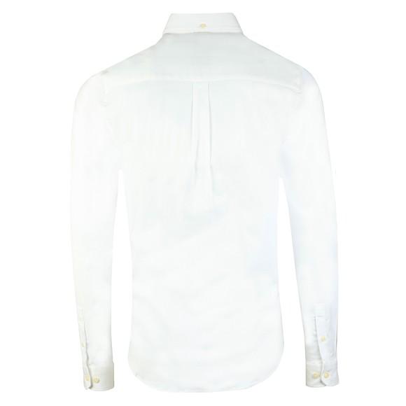 Luke Sport Mens White Cuftwill Tape Detail Shirt main image