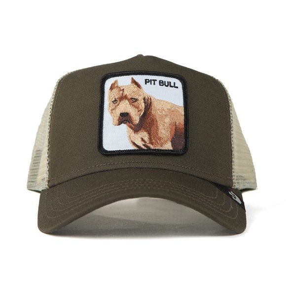 Goorin Bros. Mens Grey New Trucker Pitbull Cap