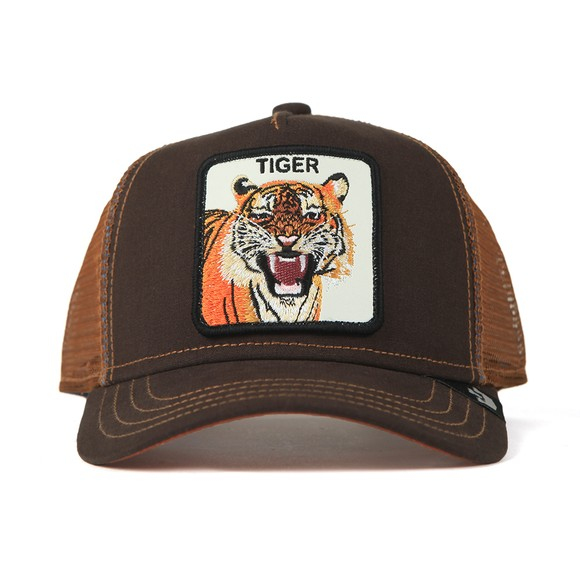 Goorin Bros. Mens Brown New Trucker Tiger Cap