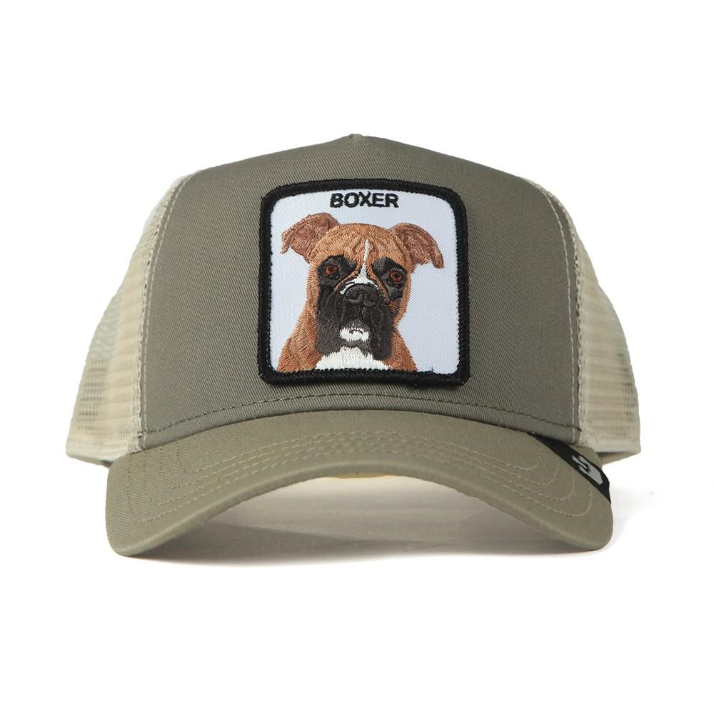 New Trucker Boxer Cap