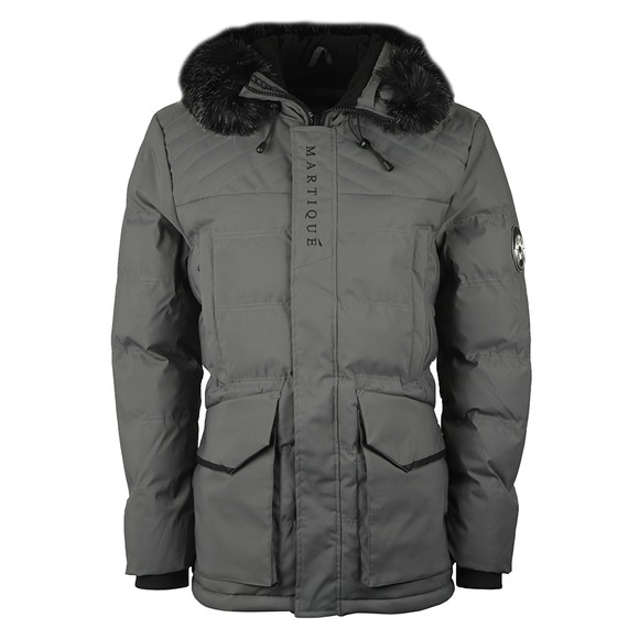 Martique Canada Mens Grey Icicle Frozen Jacket