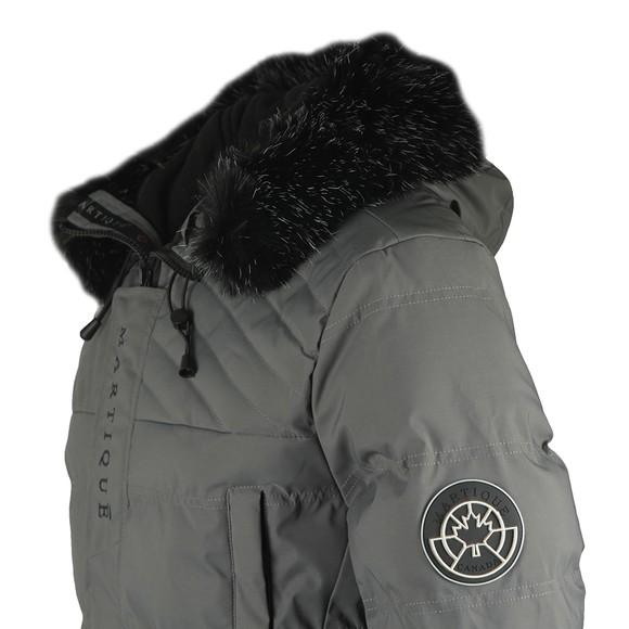 Martique Canada Mens Grey Icicle Frozen Jacket