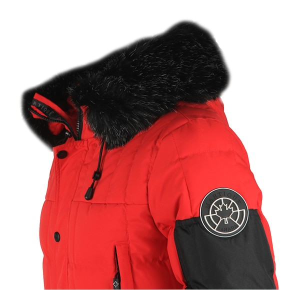 Martique Canada Mens Red Bretton Jacket