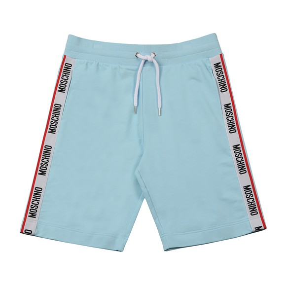 Moschino Mens Blue Tape Jersey Short
