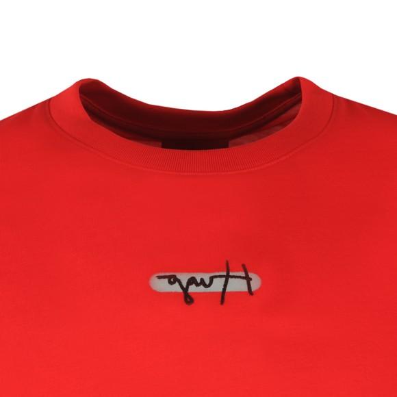 HUGO Mens Red Durned T-Shirt