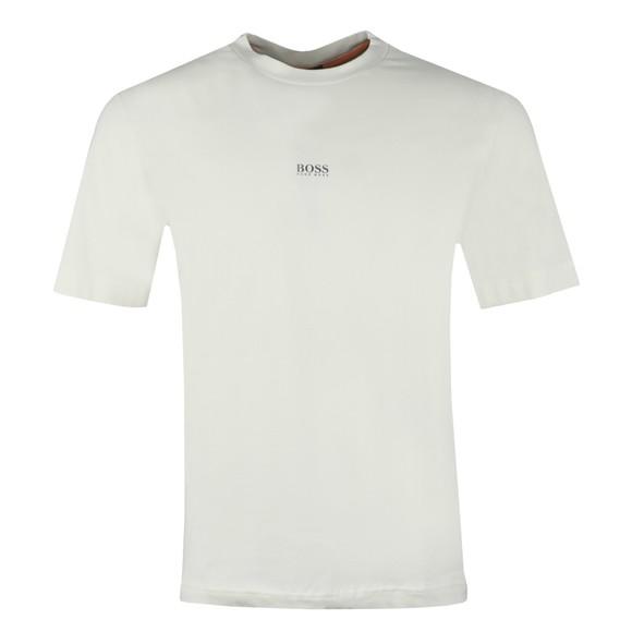 BOSS Mens Beige Casual TChup T-Shirt