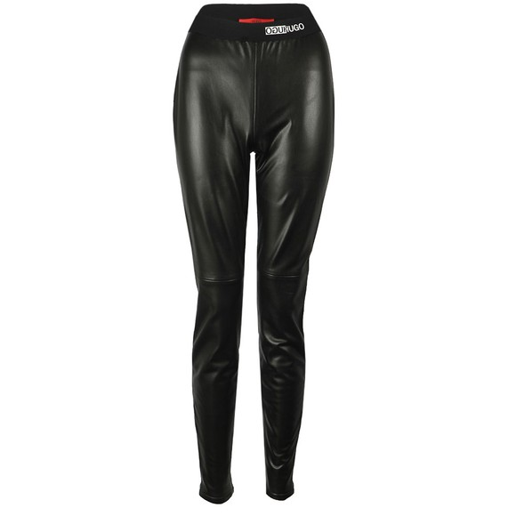 HUGO Womens Black Honati Legging