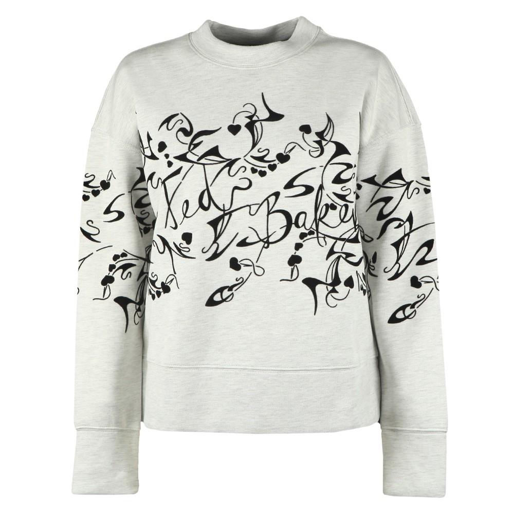 Lyhndi Bergamot Flocked Sweatshirt main image
