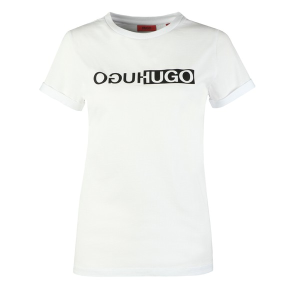 HUGO Womens White The Slim T-Shirt