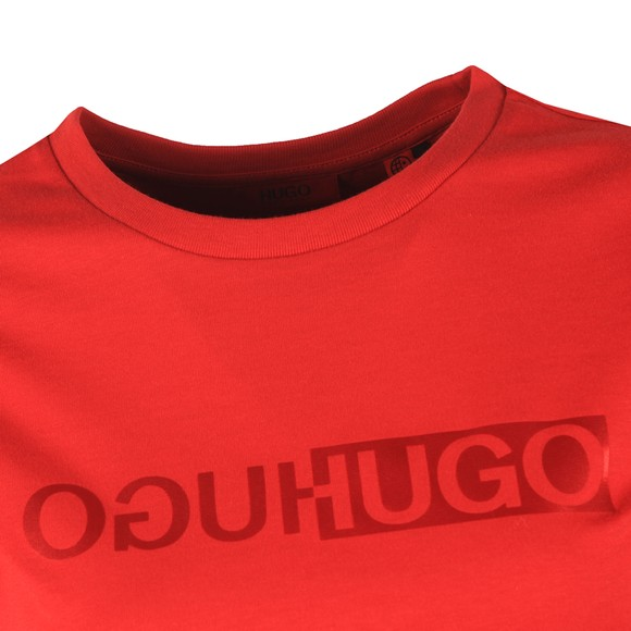 HUGO Womens Red The Slim T-Shirt